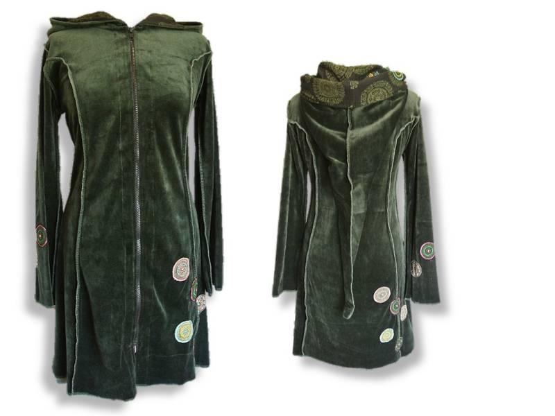 Jakke/kjole, Grønn